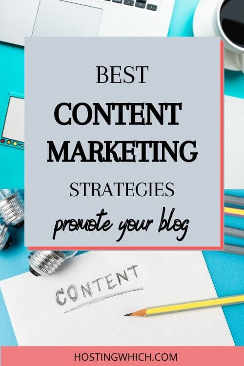 Discover the best content marketing plans/content marketing ideas/content marketing strategy to promote your blog.This blog marketing tips will show you marketing strategies ideas to help your blog marketing route.